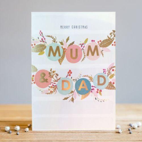 Cute Christmas Cards.Mum Dad Christmas Cards Merry Christmas Christmas Cards For Parents Christmas Mum Dad Cute Xmas Card For Parents Christmas Cards