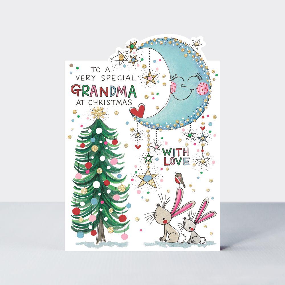 Grandma Christmas Cards - Special GRANDMA Christmas CARD - To A Very SPECIA