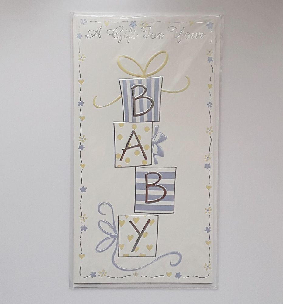 Gift Card Money Wallets & Envelope for Baby Boy - A GIFT For Your BABY - Mo