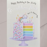 Granddaughter Birthday Cards - Have A MAGICAL Day - UNICORN Birthday CARDS - Granddaughter UNICORN Birthday CARDS - Birthday CARDS For Granddaughter