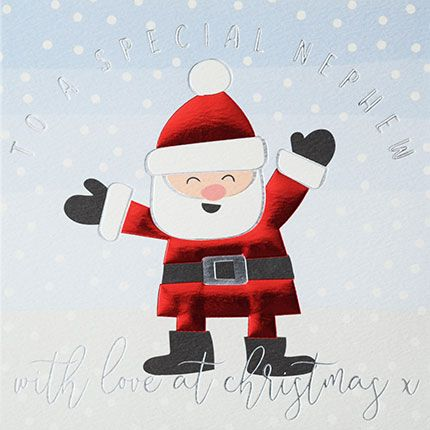 Christmas Cards For Nephew - Special NEPHEW Christmas CARDS - With LOVE At