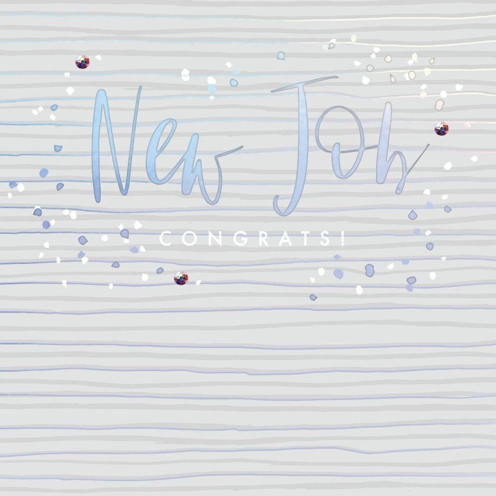 New Job Cards - NEW JOB - Embellished CARD - Congratulations CARD - Job PRO