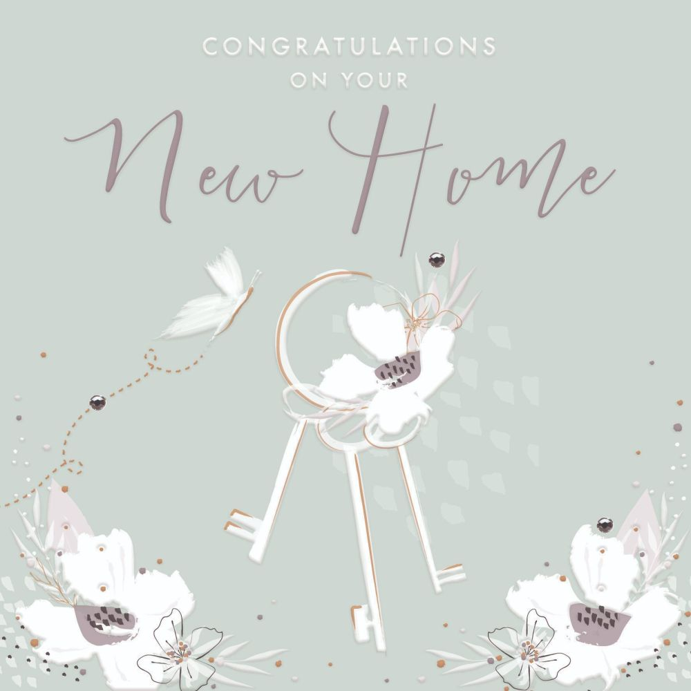 New Home Cards - CONGRATULATIONS On Your NEW Home - NEW Home CARD - CONGRAT