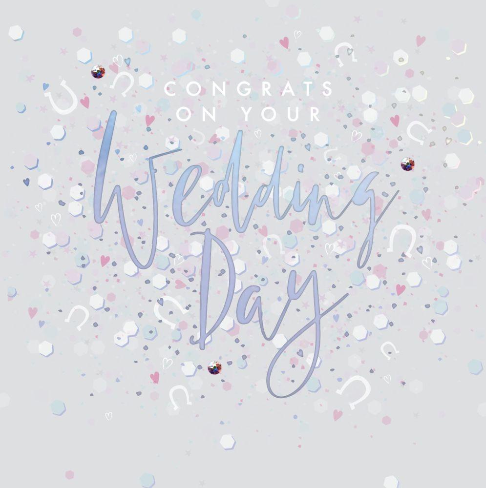 Wedding Cards - CONGRATS On Your WEDDING Day - CONGRATULATIONS Wedding CARD