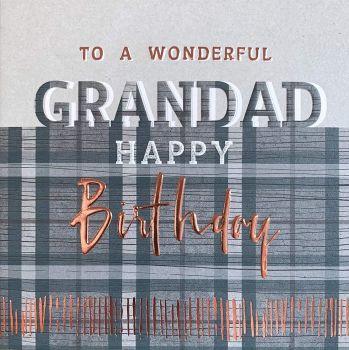 Birthday Cards For Grandad - To A WONDERFUL Grandad - GRANDAD Birthday CARDS - Happy BIRTHDAY Grandad - GRANDAD Card - Card For GRANDAD