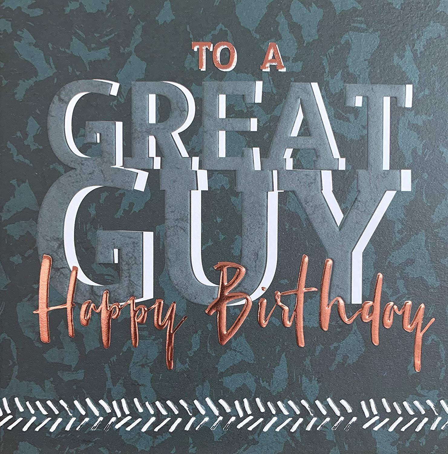 Male Birthday Card - To A GREAT Guy - Male BIRTHDAY Cards ...