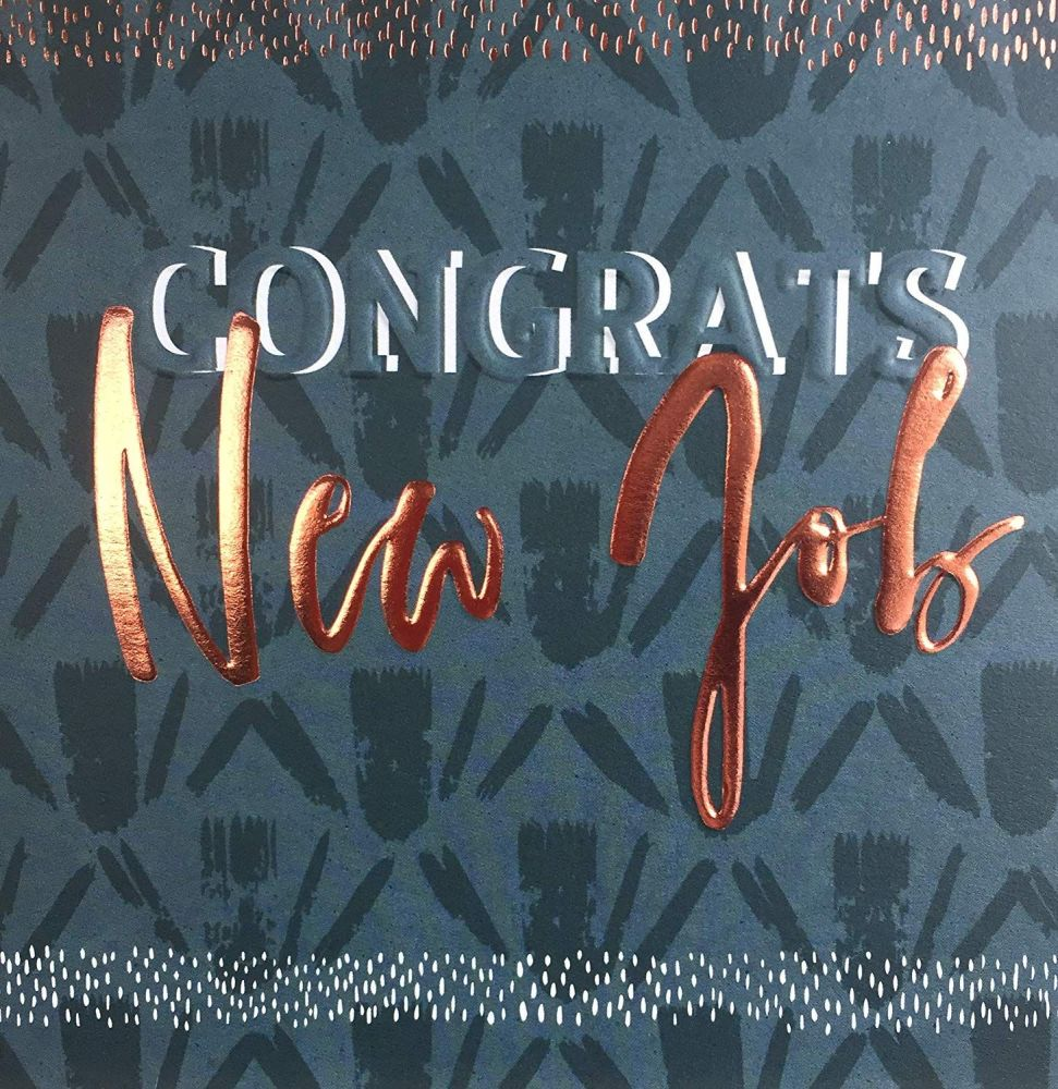 New Job Cards - CONGRATS - NEW JOB - Congratulations CARD - Job PROMOTION C