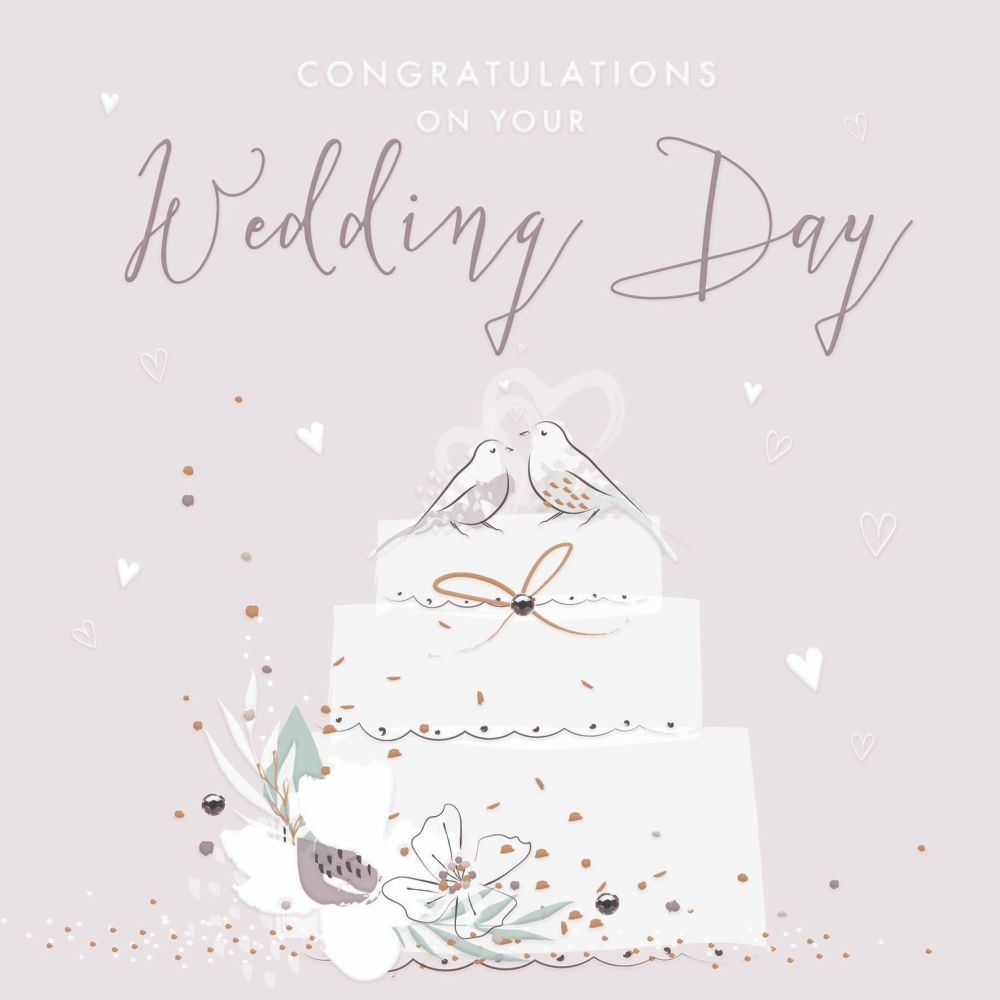 Wedding Cards Congratulations On Your Wedding Day