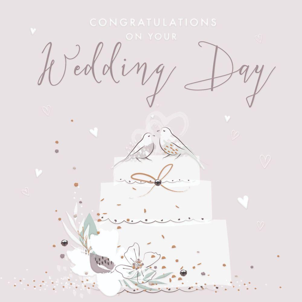 Greeting Cards Congratulations Wedding Cards - CONGRATULATIONS On Your WEDD