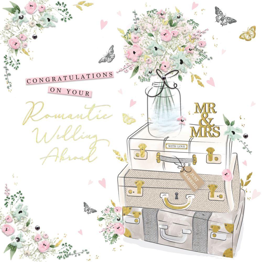 Wedding Abroad Cards - ROMANTIC Wedding ABROAD - Wedding CARDS - Wedding Da