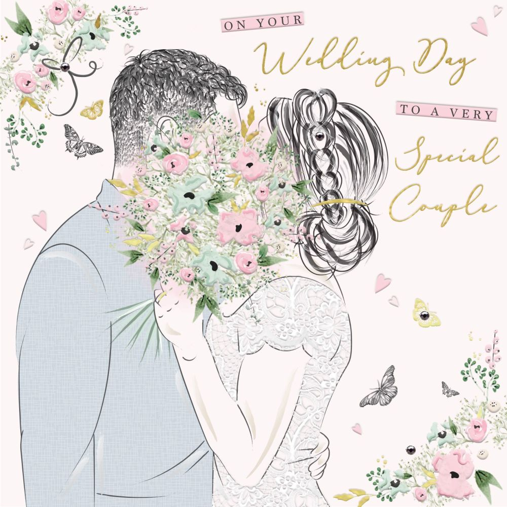 Wedding Cards - To A VERY Special COUPLE - Congratulations WEDDING Cards -
