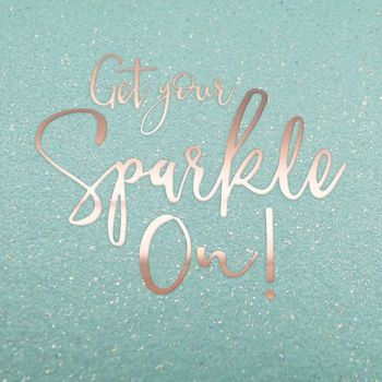 Birthday Cards For Her - GET Your SPARKLE On - MOTIVATIONAL Card - Birthday CARDS - Birthday CARD For Friend - SISTER - Daughter - SPECIAL Friend