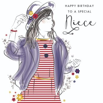 Birthday Cards For Niece - TO A Special NIECE - Birthday CARD For NIECE - Happy BIRTHDAY Niece CARD - Special NIECE Birthday CARD