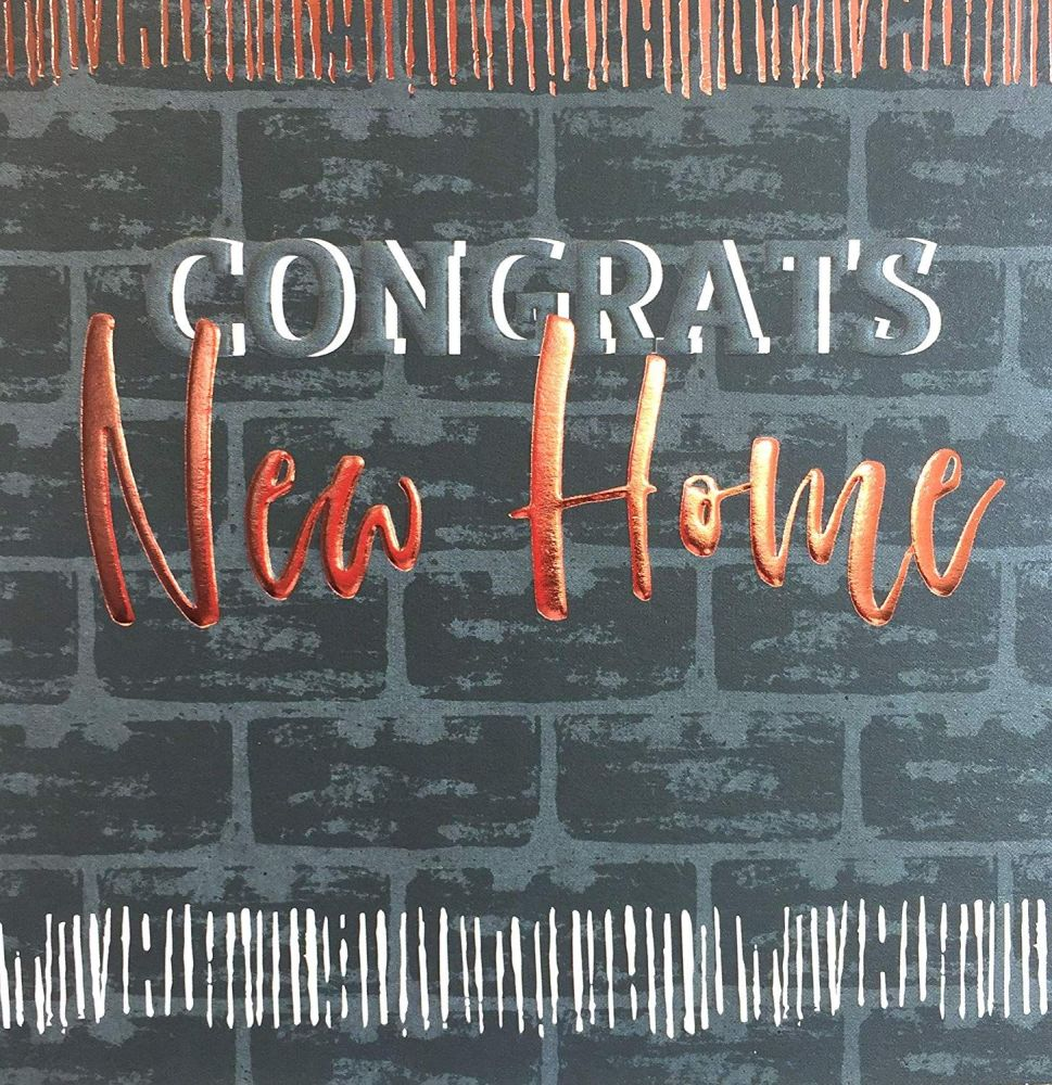 New Home Cards - CONGRATS New HOME - Congratulations ON Your New HOME Cards