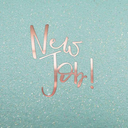 New Job Cards - NEW Job - JOB Promotion Cards - CONGRATULATIONS Cards - SPA