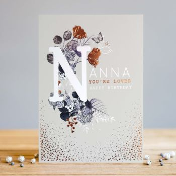 Birthday Cards For Nanna - YOU'RE So LOVED - Happy BIRTHDAY - Nanna Birthday CARD - Grandma BIRTHDAY Card - BIRTHDAY Card For LOVED Nanna