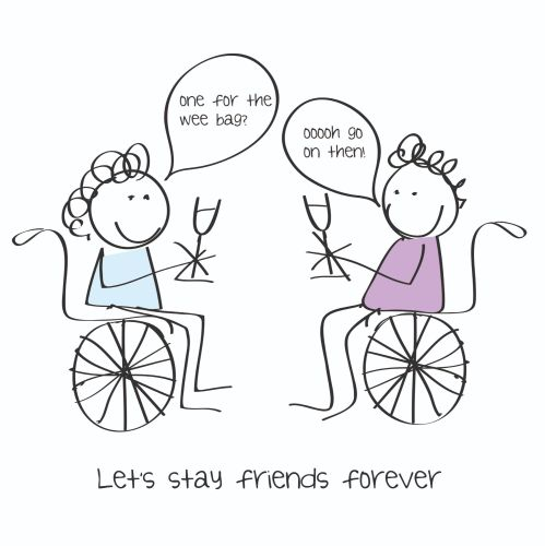 Best Friend Birthday Cards - LET'S Stay Friends FOREVER - Friendship CARDS
