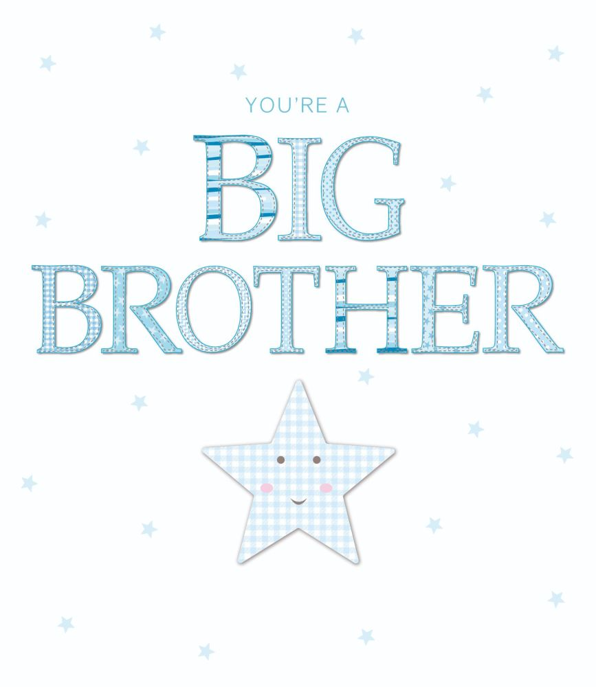 Big Brother Card - You're A BIG BROTHER - Brother TO Be & NEW Big BROTHER C