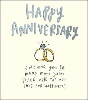 Happy Anniversary Cards - WEDDING Anniversary Cards - WISHING You SO Many MORE Years - HAPPY Anniversary Card FOR Parents - FRIENDS