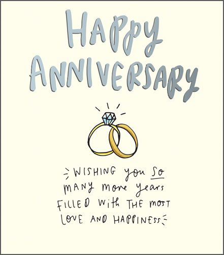 Happy Anniversary Cards - WEDDING Anniversary Cards - WISHING You SO Many M
