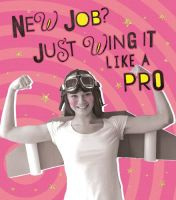 Funny New Job Cards - JUST Wing It LIKE A PRO - New JOB Cards - RETRO Style CARD - Job PROMOTION Card - NEW Job CARD For FEMALE