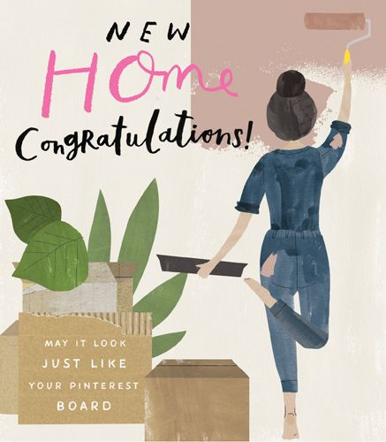 Funny New Home Cards - MAY It LOOK Just LIKE Your PINTEREST Board - NEW Hom