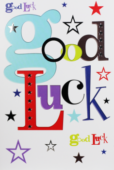 Good Luck Cards - GOOD LUCK - Good LUCK Greeting CARDS - Good LUCK Wishes Exams - Driving TEST - Job INTERVIEW