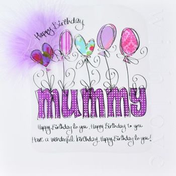 Mum Birthday Cards - HAPPY Birthday MUMMY - LUXURY Boxed BIRTHDAY Card - MUMMY Birthday CARDS - BIRTHDAY Cards For MUM - Large UNIQUE Birthday Cards