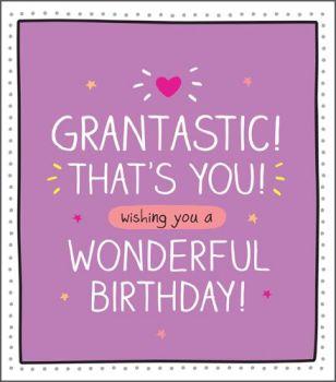 Grandma & Nan Birthday Cards - GRANTASTIC That's YOU - Wonderful BIRTHDAY Wishes - GRAN Card - GRAN Birthday CARD - Grandma BIRTHDAY Cards
