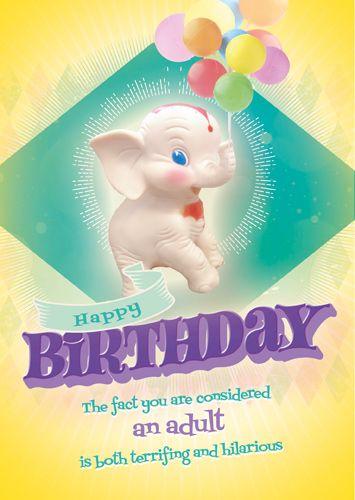Badass Female Birthday Card - TERRIFYING & HILARIOUS - Naughty Birthday CAR