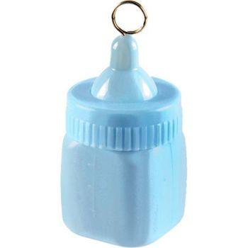 Blue Baby Bottle Balloon Weights - 4 BALLOON Weights - BABY Shower PARTY Balloon WEIGHT - Balloon WEIGHTS - Blue BALLOON Weights