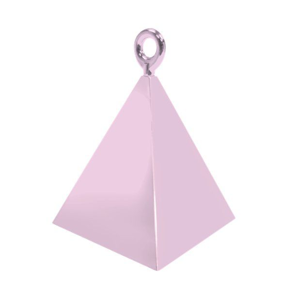 Pearl Pink Pyramid Balloon Weights - 4 BALLOON Weights - PARTY Balloon WEIG