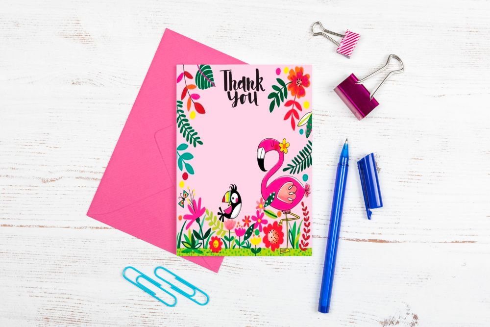 KID'S PARTY THANK YOU CARDS - SALE