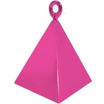 Magenta Pyramid Weights - 4 BALLOON Weights - PARTY Balloon WEIGHTS - Balloon WEIGHTS - Magenta BALLOON Weights