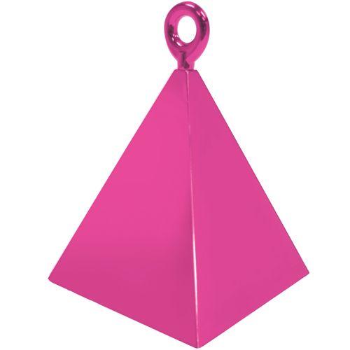 Magenta Pyramid Weights - 4 BALLOON Weights - PARTY Balloon WEIGHTS - Ballo