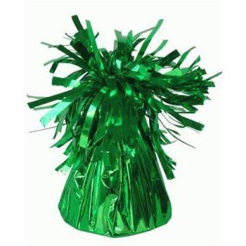 Green Frilly Balloon Weights - 4 BALLOON Weights - PARTY Balloon WEIGHTS - Balloon WEIGHTS - Green BALLOON Weights