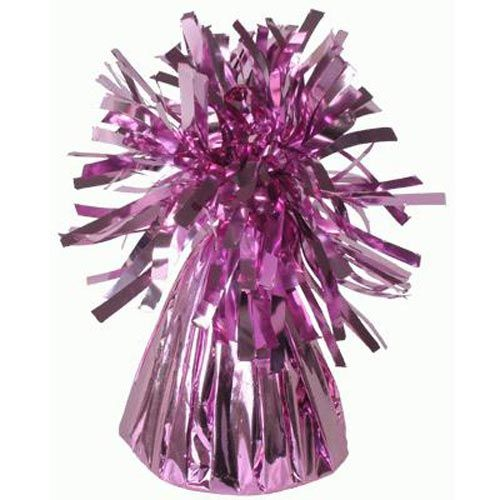 Pink Frilly Balloon Weights - 4 BALLOON Weights - PARTY Balloon WEIGHTS - B