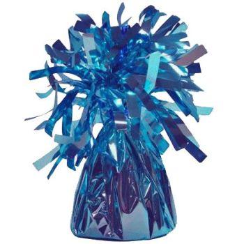 Light Blue Frilly Balloon Weights - 4 BALLOON Weights - PARTY Balloon WEIGHTS - Balloon WEIGHTS - Blue BALLOON Weights