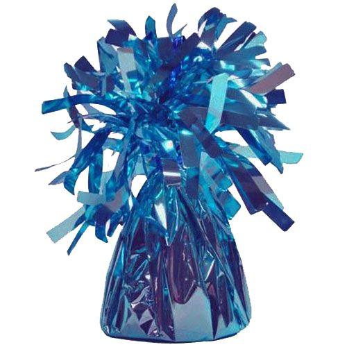Light Blue Frilly Balloon Weights - 4 BALLOON Weights - PARTY Balloon WEIGH