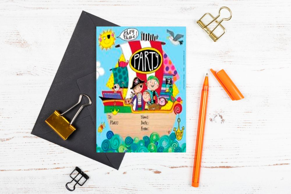KIDS BIRTHDAY PARTY INVITATIONS - SALE