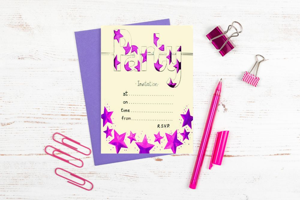 PARTY INVITATIONS - SALE
