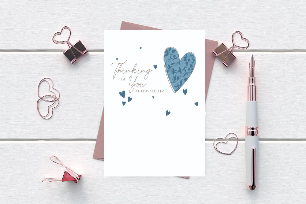 THINKING OF YOU - SYMPATHY CARDS - SALE