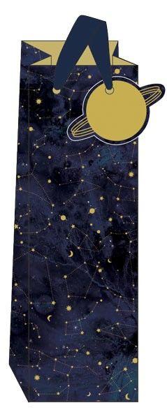 Constellations Bottle Gift Bag - WINE & Bottle GIFT Bags - BOTTLE Gift BAGS