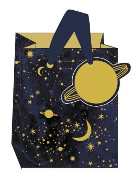 Constellations Small Gift Bag - SMALL Portrait GIFT Bags - Gift BAGS - BIRTHDAY Gift BAGS With TAG - Gift BAGS For HIS Birthday