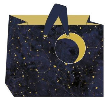 Constellations Landscape Gift Bag - MEDIUM Gift BAGS - Gift BAGS - BIRTHDAY Gift BAGS With TAG -  Gift BAGS For HIS Birthday