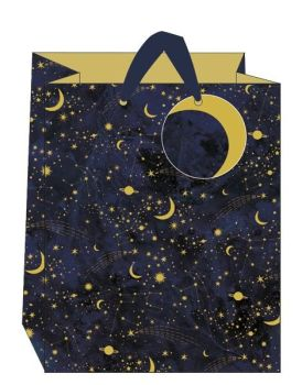 Constellations Large Gift Bag - LARGE Portrait GIFT Bags - Gift BAGS - BIRTHDAY Gift BAGS With TAG - Gift BAGS For HIS Birthday