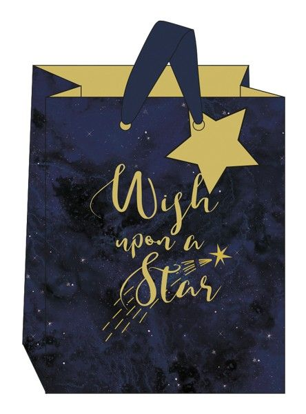 Wish Upon A Star Gift Bag - MEDIUM Portrait Gift Bags - Constellations GIFT