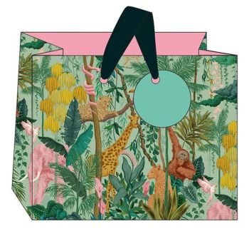 Safari Landscape Gift Bag - MEDIUM Gift BAGS - Gift BAGS - BIRTHDAY Gift BAGS With TAG - Gift BAGS For HIS Birthday