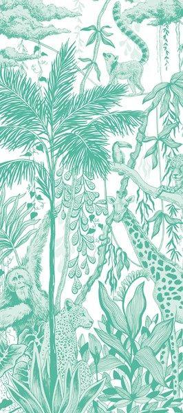 Safari Print Luxury Tissue Paper - Pack Of 4 - JUNGLE THEME - Luxury TISSUE