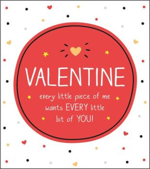 Sexy Valentine Card - VALENTINES Cards - EVERY Little PIECE Of YOU - Sexy VALENTINE'S Day CARD - Naughty VALENTINE'S Card For GIRLFRIEND - Boyfriend